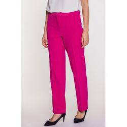 1a3269accaace Amarantowe spodnie w kant - Carmell, 1 rozmiar