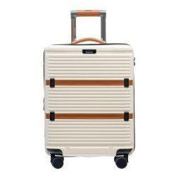 fdde6d47b86b9 PUCCINI walizka mała/ kabinowa twarda z kolekcji OXFORD PC023 materiał  policarbon zamek szyfrowy TSA, PC023 C
