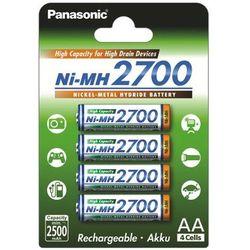 4 x akumulatorki Panasonic R6 AA Ni-MH 2700mAh (blister)