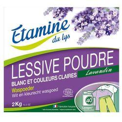 EDL proszek do prania tkanin białych i o trwałych kolorach organiczna lawenda 2 kg EDL promocja 15% 06'2016 (-15%)