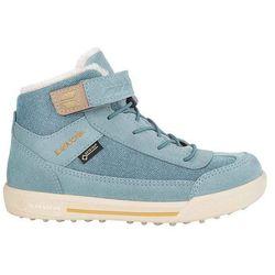 1751668d Nowe dziecięce buty lara gtx mid iceblue/sand rozmiar 31/19,5cm marki Lowa