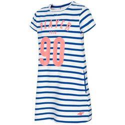 609764de7d Sukienka dla małych dziewczynek JSUDD105 - kobalt