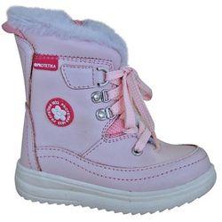 8a7e70cbd5 Protetika buty zimowe za kostkę dziewczęce Bory 19 jasnoróżowy  (8585003418608)
