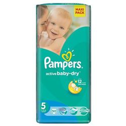 Pampers Active Baby-Dry roz. 5 Junior 50 szt.