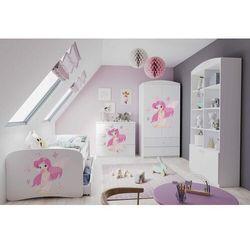 Kocot Zestaw mebli dziecięcych dla dziewczynki z łóżkiem 140x70 babydreams