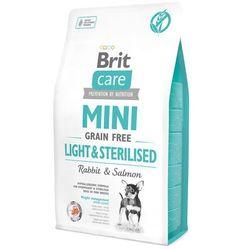 Brit Care Mini Grain Free Light & Sterilised 2kg- Zamów do 16:00, wysyłka kurierem tego samego dnia! (8595602521067)