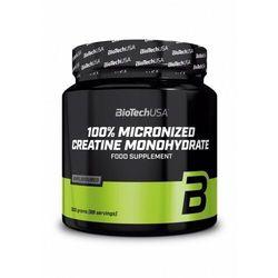 Biotech 100% creatine monohydrate 300g kreatyna marki Biotech usa