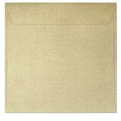 Koperty ozdobne 145x145mm op.10 120g. pearl - złota marki Galeria papieru