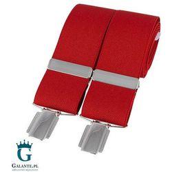 Szelki do spodni czerwone br-005 marki David aster - made in england