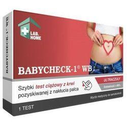 Labhome Babycheck-1 wb test ciążowy z krwi
