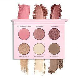Paleta cieni prasowanych rose eyeshadow palette rose marki Neonail