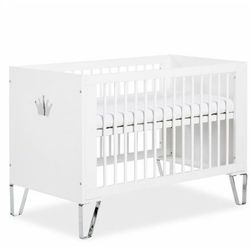 Blanka łóżeczko 120x60 białe marki Klupś meble dziecięce