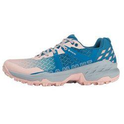 Mammut sertig ii gtx low shoes women, różowy/niebieski uk 5,5 | eu 38 2/3 2021 buty turystyczne