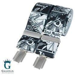 Szelki do spodni Muzyczne Jazz BR-015