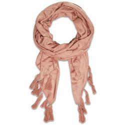 Chusta TWINSET - 211TO5041 Tan Pink 05852, kolor różowy