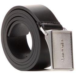 Pasek Męski CALVIN KLEIN - Pique Metal Plaque 35mm K50K506877 BAX