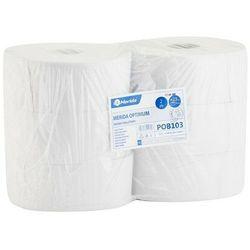 Papier toaletowy optimum, 2 warstwy, makulatura - 6 rolek marki Merida