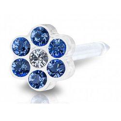 daisy sapphire / crystal 5 mm marki Blomdahl