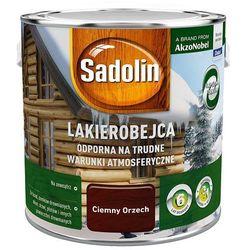 SADOLIN LAKIEROBEJCA ODPORNA, ciemny orzech, 2.5l (na trudne)
