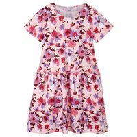 Sukienki dziecięce, Sukienka dziewczęca z dżerseju z bawełny organicznej bonprix pastelowy jasnoróżowy