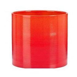 Osłonka Scheurich 828 Tequila Sunrise czerwony + pomarańczowy 19