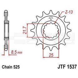 Zębatka przednia JT F1537-15, 15Z, rozmiar 525 2201044 Kawasaki Z 1000