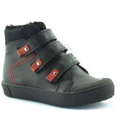 Buty zimowe dla dzieci Kornecki 06014 - Czarny Obuwie zimowe -30% (-30%)