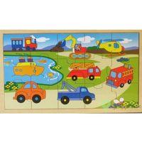 Pozostałe zabawki dla najmłodszych, Drewniane puzzle