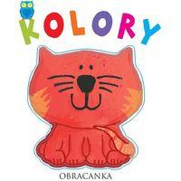 Książki dla dzieci, Obracanka Kolory - Wysyłka od 3,99 (opr. twarda)