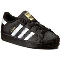 Buty sportowe dla dzieci, Buty adidas - Superstar Foundation C BA8379 Cblack/Ftwwht/Cblack