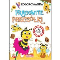 Kolorowanki, Kolorowanka Pracowite pszczółki (+ naklejki)