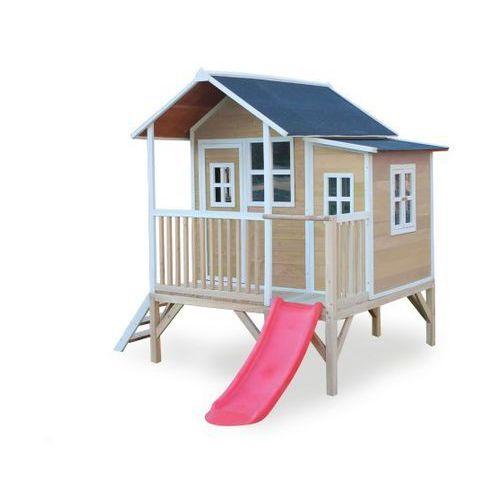 Domki i namioty dla dzieci, Domek cedrowy dla dzieci EXIT LOFT 350 /naturalny/