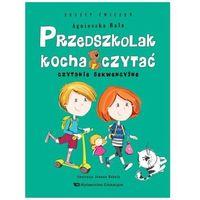 Książki dla dzieci, Przedszkolak kocha czytać Czytanie sekwencyjne z.ćwiczeń (opr. broszurowa)