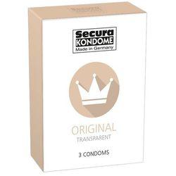 Prezerwatywy Secura Original Klasyczne (1op./ 3szt.)