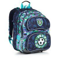 Tornistry i plecaki szkolne, Plecak szkolny Topgal CHI 884 D - Blue