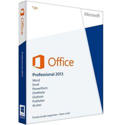 Microsoft Office Professional PKC 2013