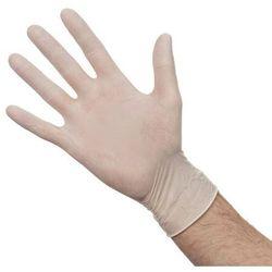 Rękawiczki jednorazowe lateksowe M   100 szt.