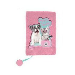 Pluszowy pamiętnik Studio Pets Happy Friends. Darmowy odbiór w niemal 100 księgarniach!
