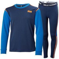 Bielizna termoaktywna JR HH LIFA ACTIVE SET HELLY HANSEN Evening Blue - niebieski ||689 -30 narty (-30%)