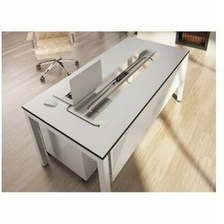 Prostokątne biurko stół STB 1280 COMFORT 1200x800mm