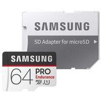 Karty pamięci, Samsung MB-MJ64GA/EU Pro Endurance 64GB + Adapter