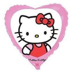 Balon foliowy serce Hello Kitty - 46 cm - 1 szt.