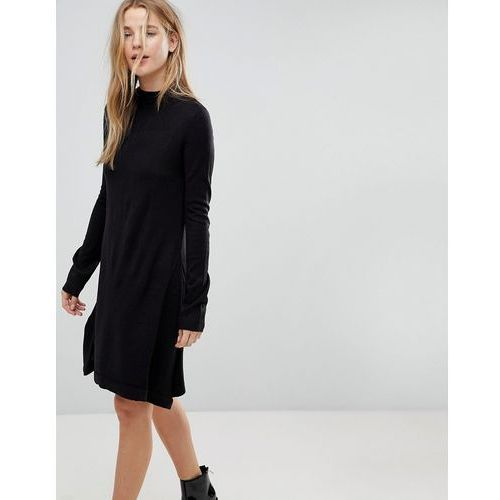 Suknie i sukienki, Brave Soul Swing Jumper Dress - Black