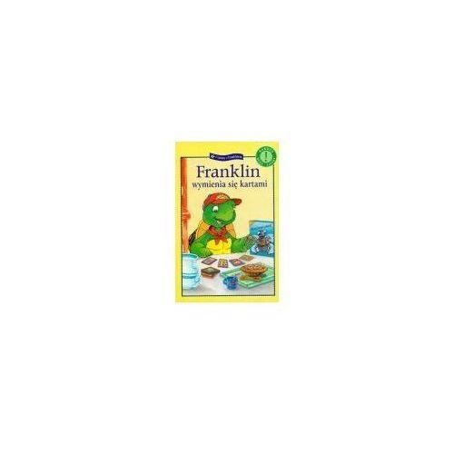 Książki dla dzieci, FRANKLIN WYMIENIA SIĘ KARTAMI (opr. miękka)