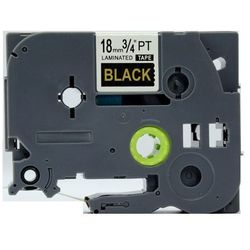 Brother 18mm Gold on Black (TZE344) Szybka dostawa! Darmowy odbiór w 21 miastach!