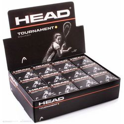 Head Tournament Squash Ball 12-pack