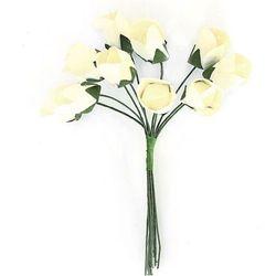 Kwiaty papier GP TULIPANY op.10 białe 252000
