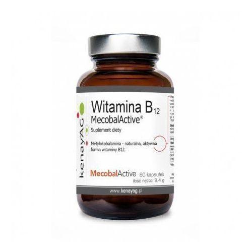 Witaminy i minerały, KENAY WITAMINA B12 MECOBALACTIVE - METYLOKOBALAMINA 60 KAPS.