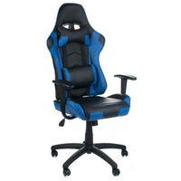 Fotele dla graczy, Fotel gamingowy RACER CorpoComfort BX-3700 Niebies