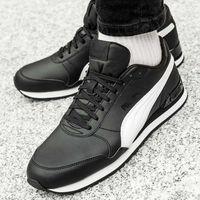 Męskie obuwie sportowe, Puma ST Runner Leather v2 (365277-11)